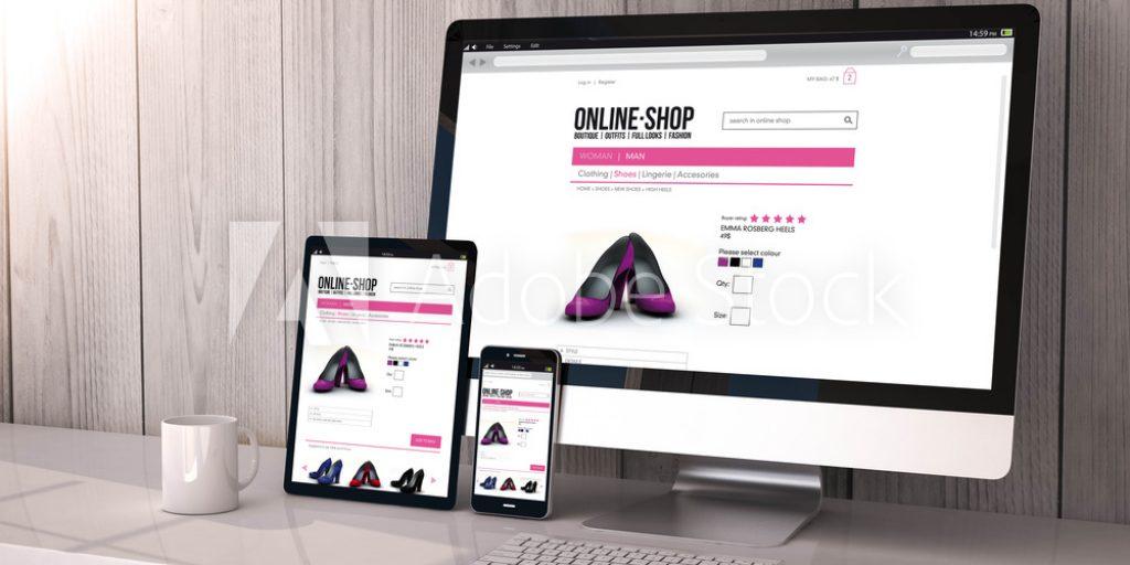 sites e lojas online responsivos